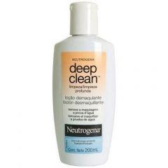 Loção Demaquilante Neutrogena Deep Clean - com 200mL
