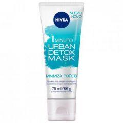 Máscara Facial Nivea Urban Detox Minimiza Poros - 75mL