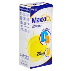 Maxxi D3 - 200ui gotas com 20 ML  Myralis