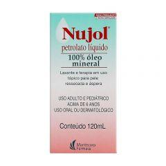 Nujol 100% Óleo Mineral 200ml