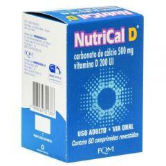 Nutrical D 500mg + 2mg com 60 comprimidos revestidos