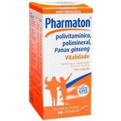 Pharmaton 50+ com 60 Cápsulas