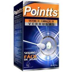 Pointts Anti Verruga com 80ml + 12 Aplicadores de Esponja