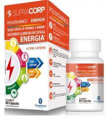 Polivitamínico Energia com 60 Cápsulas