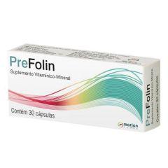 Prefolin Suplemento Vitaminico-Minerais com 30 Cápsulas Gelatinosas