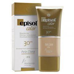 Protetor Solar Episol Color Pele Clara FPS 30 Mantecorp Skincare 40g