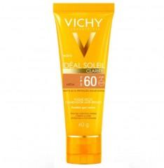 Protetor Solar Vichy Com Cor Média Ideal Soleil Clarify 60 FPS