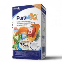 Puravit Imune Solução Oral Sabor Morango Com 75 Ml