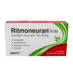 Ritmoneuran RTM 182,93 mg com 20 Cápsulas