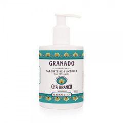 Sabonete de Glicerina Granado Terrapeutics - chá branco, líquido, 300mL