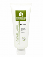 Sabonete Esfoliante Antiacne Cremoso Acne Sec Derma Fine 100g