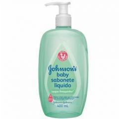 Sabonete Johnson's Baby - toque fresquinho, líquido, 400mL