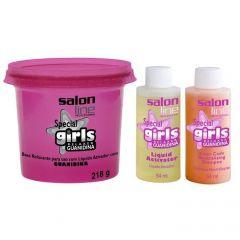 Salon Line Guanidina Special Girls - 1 kit   com 218g