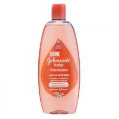 Shampoo Johnson?s Baby Cabelos Cacheados 400ml