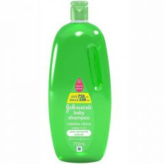 Shampoo Johnson's Baby Cabelos Claros - 750ml, pague 550ml
