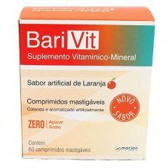 Suplemento Barivit - Laranja, 60 Comprimidos Mastigáveis