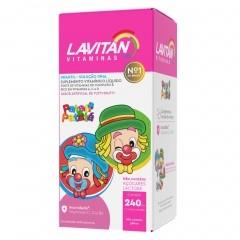 Suplemento Vitamínico Lavitan Infantil Patati Patata Tutti Frutti - 240mL