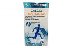 Supracorp Cálcio 600 + D3 + K2 60 Comprimidos