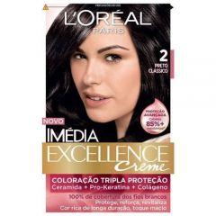Tintura Imédia L'Oréal 2 Preto Clássico