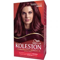 Tintura Wella Koleston Vermelhos Poderosos - Ref. 4446, Borgonha Vibrante
