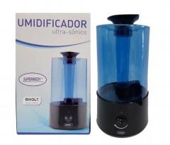 Umidificador de Ar Ultrassônico Bivolt  Supermedy 3,2L
