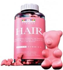 Vitamina para cabelo Vita Premium Gummies Hair com 60 gomas