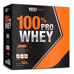 Voxx 100% Pro Whey Protein Sabor Chocolate com 900g