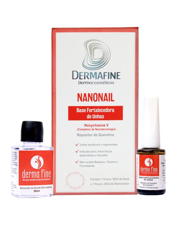 Base Fortalecedora de Unhas Nanonail Derma Fine 30mL