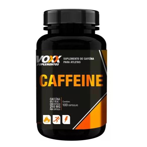 Cafeína Voxx Caffeine com 100 cápsulas