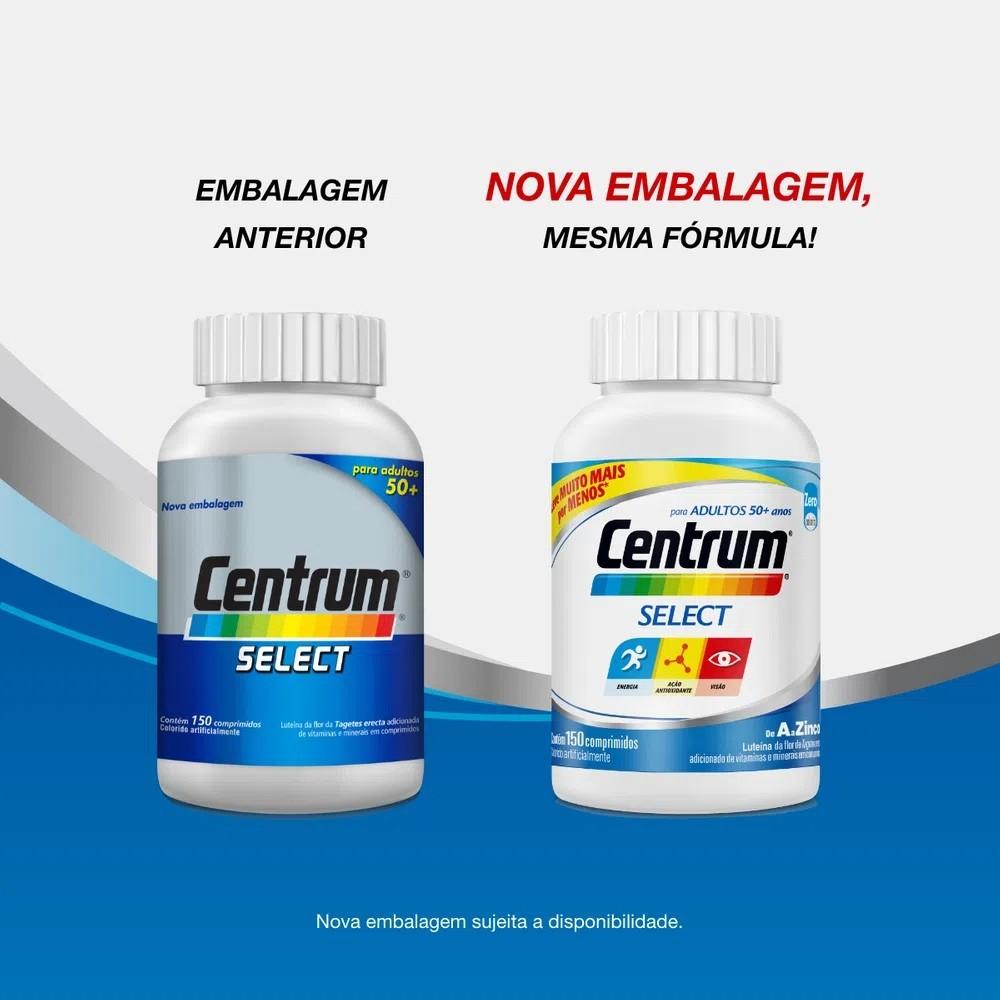 Centrum Select 50+ com 150 Comprimidos