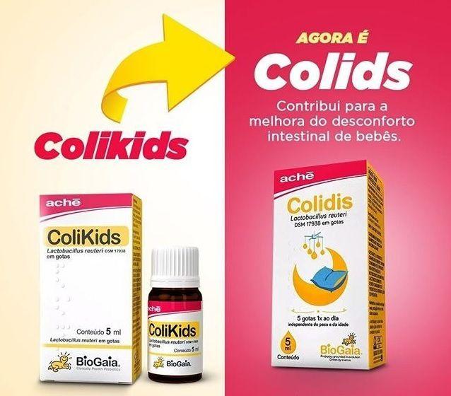 Colidis gotas com 5ml