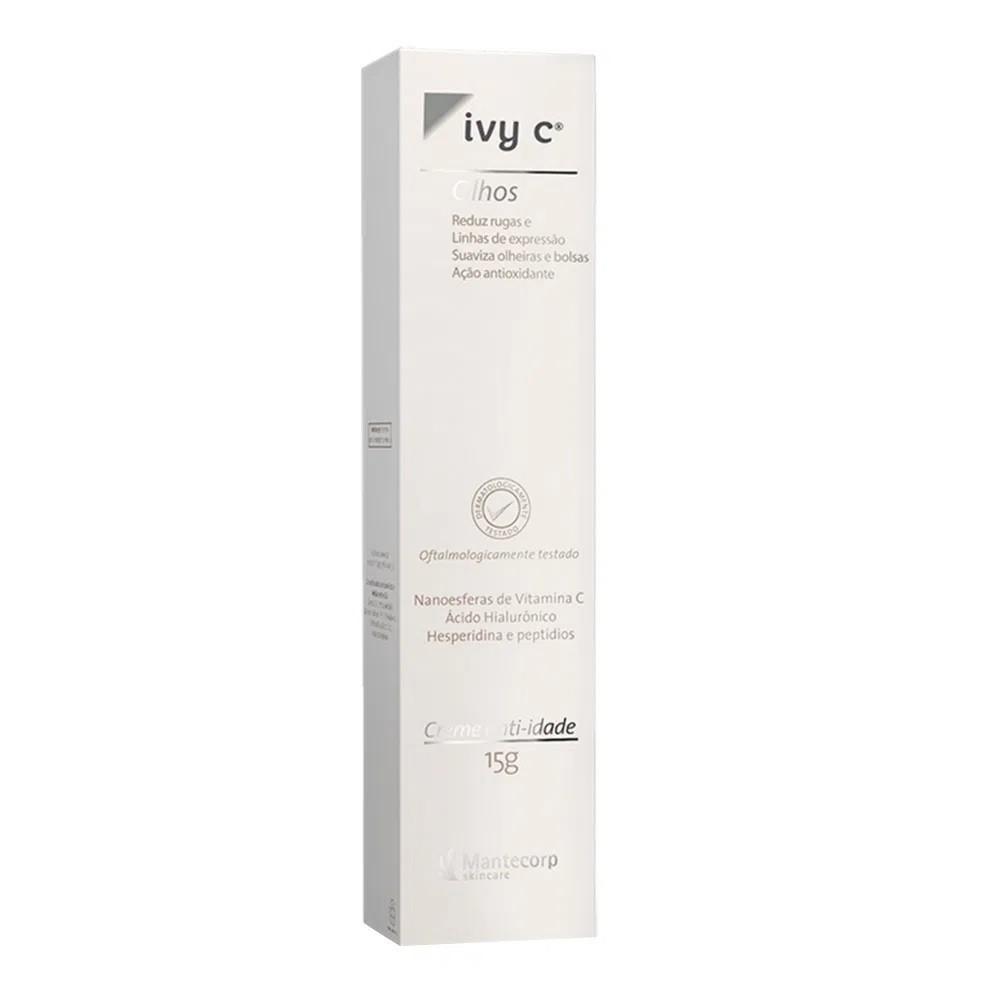 Creme Anti-Idade Ivy C Olhos 15g - Mantecorp Skincare