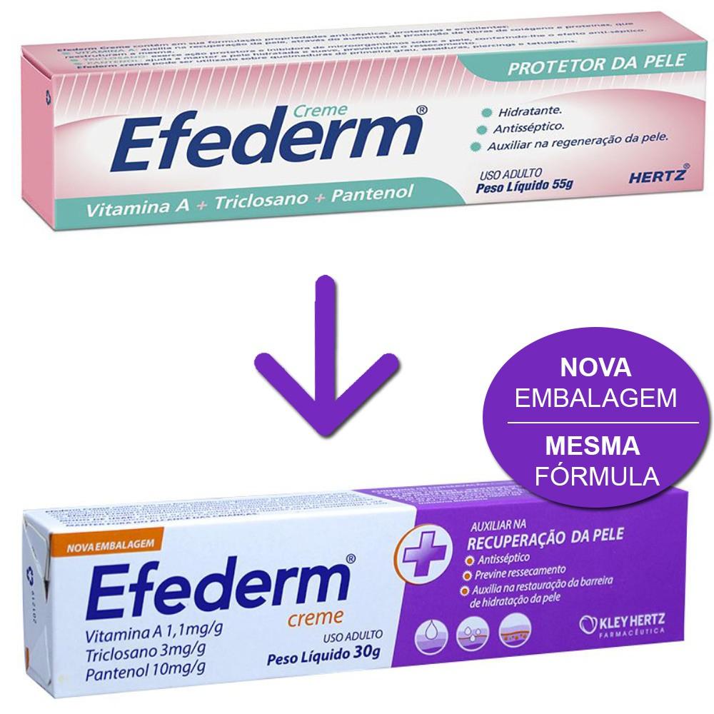 Creme Efederm com 55 gramas