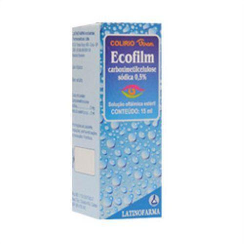 Ecofilm Solução Oftálmica Estéril com 15ml Latinofarma