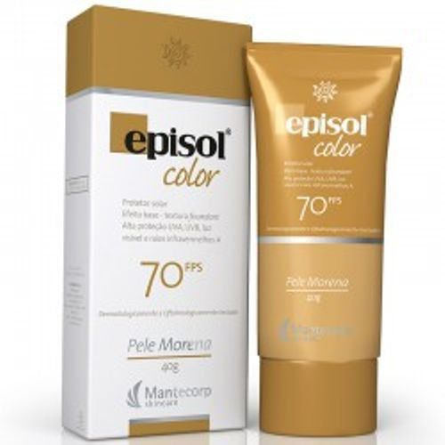 Episol Fps70 Color Pele Morena Mantecorp Skincare 40g