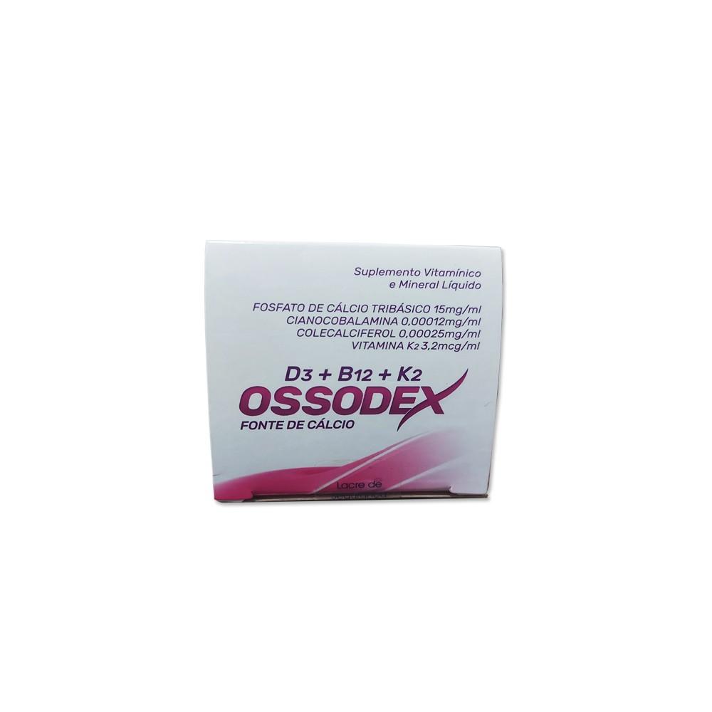 Fonte de Cálcio Ossodex Líquido Adulto e Infantil - Sabor Cereja 240mL
