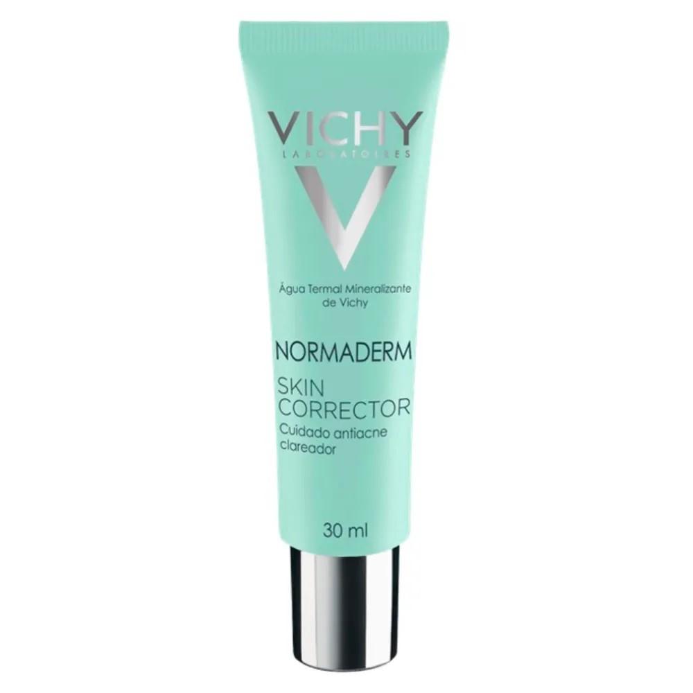 Gel Creme Antiacne Clareador Vichy Normaderm Skin Corrector 30mL
