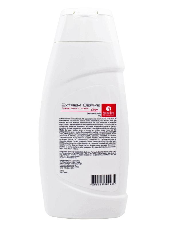 Hidratante Corporal DermaFine Extrem Derme Corpo 240ml - Kit com 2 Unidades
