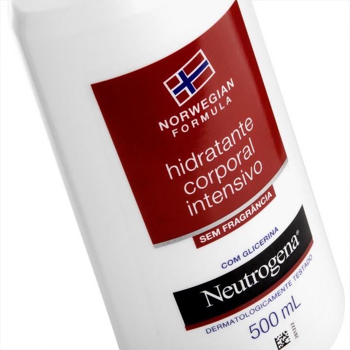 Hidratante Corporal Neutrogena Intensivo Sem Fragrância 500mL