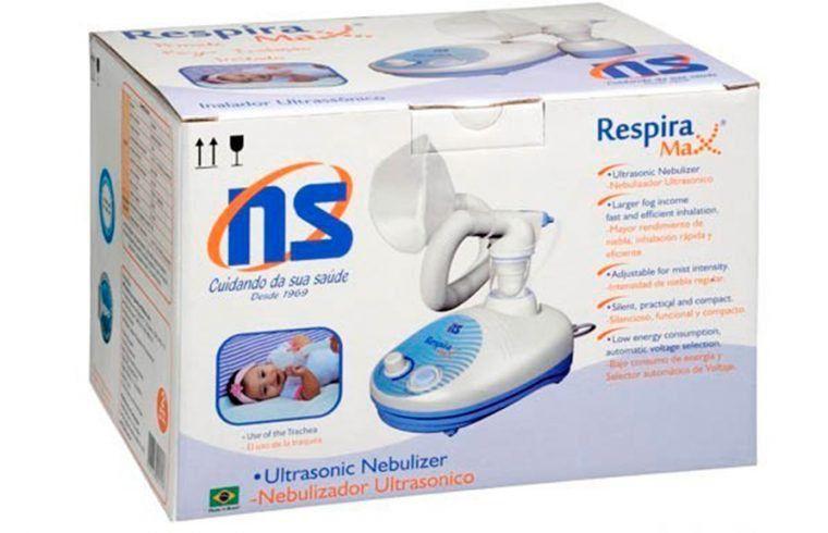 Inalador ultrassônico NS RespiraMax Bivolt