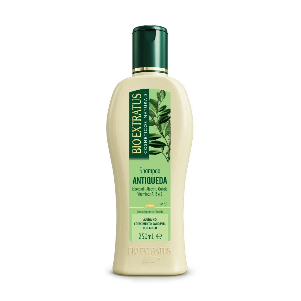 Kit Bio Extratus Jaborandi Antiqueda - Shampoo + Condicionador + Banho de Creme