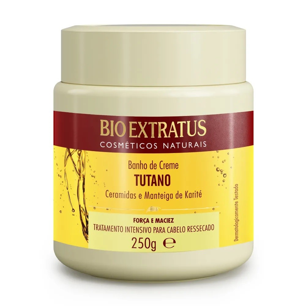 Kit Bio Extratus Tutano 250mL - Tratamento Para Cabelo Ressecado