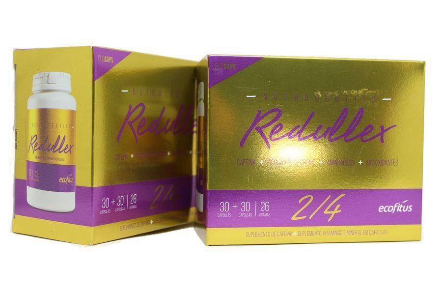 Kit com 2 caixas Emagrecedor Redullex