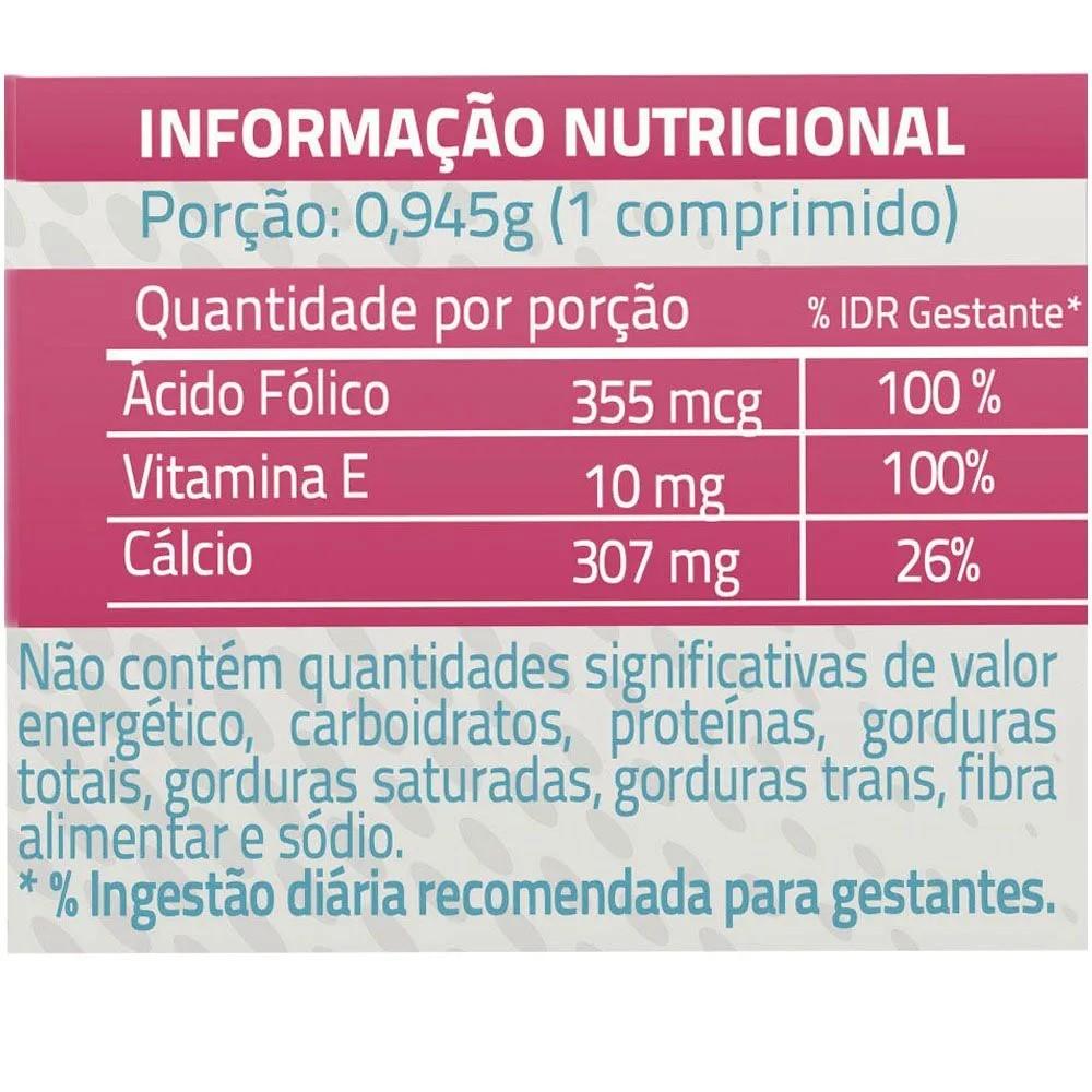 Kit com 2 Caixas Suplemento de Ácido Fólico Para Gestantes Liteé
