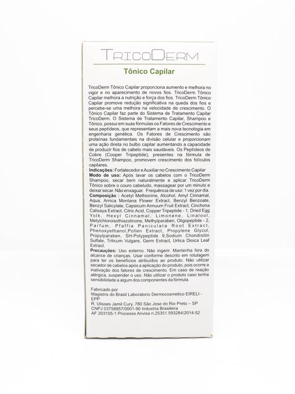 Kit com 2 Caixas Tônico Capilar Antiqueda Tricoderm Derma Fine 100mL