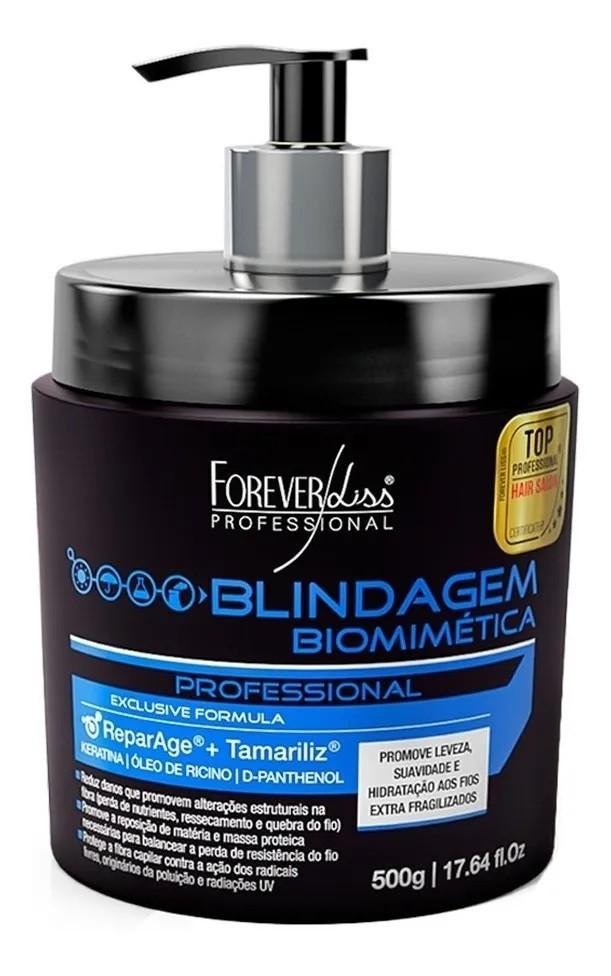 Kit Forever Liss Cauterização Capilar + Blindagem Biomimética