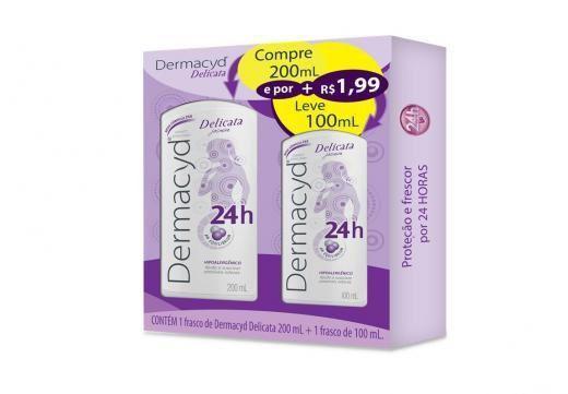 Kit Sabonete Dermacyd 24h Del200ml + Del100ml