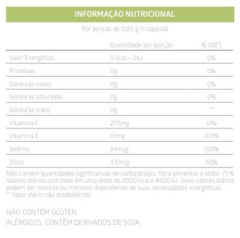 Maca Peruana com Vitaminas e Minerais Litee Testolit 30 Caps
