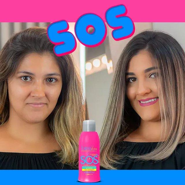 Máscara Reconstrutora Forever Liss SOS Antiemborrachamento 300ml