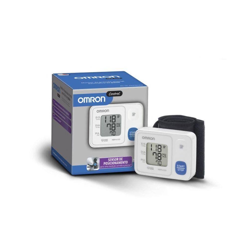 Monitor de Pressão Arterial Automático de Pulso Omron Control